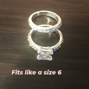 Two size 6 rings